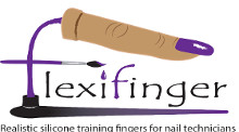 Flexifinger - Practice Finger for Nail Technicians